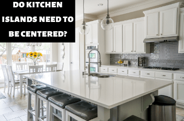 Do Kitchen Islands Need To Be Centered Bed Bath