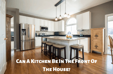Kitchen Be In The Front Of The House