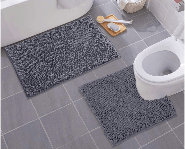 Never Wash Bathroom Rugs With Towels