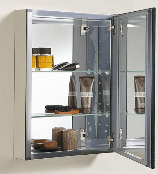 bathroom cabinet with medicine cabinet