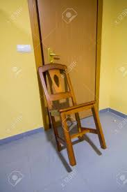 Chair Blocking The Door